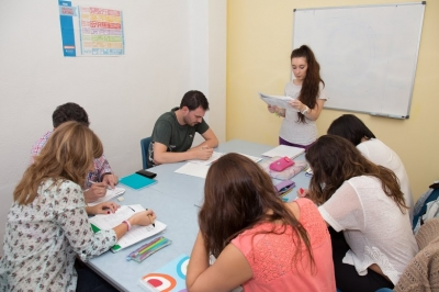 B1 preparation class in our academy Conecta Idiomas